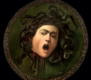 """Die Hauptattraktion der Ausstellung ist Caravaggios Gemälde """"Medusa"""", das höchstwahrscheinlich die erste der zwei existierenden Versionen ist. Die Ausstellung in der Alten Pinakothek konzentriert sich vor allem auf die Unterschiede der einzelnen Maler."""
