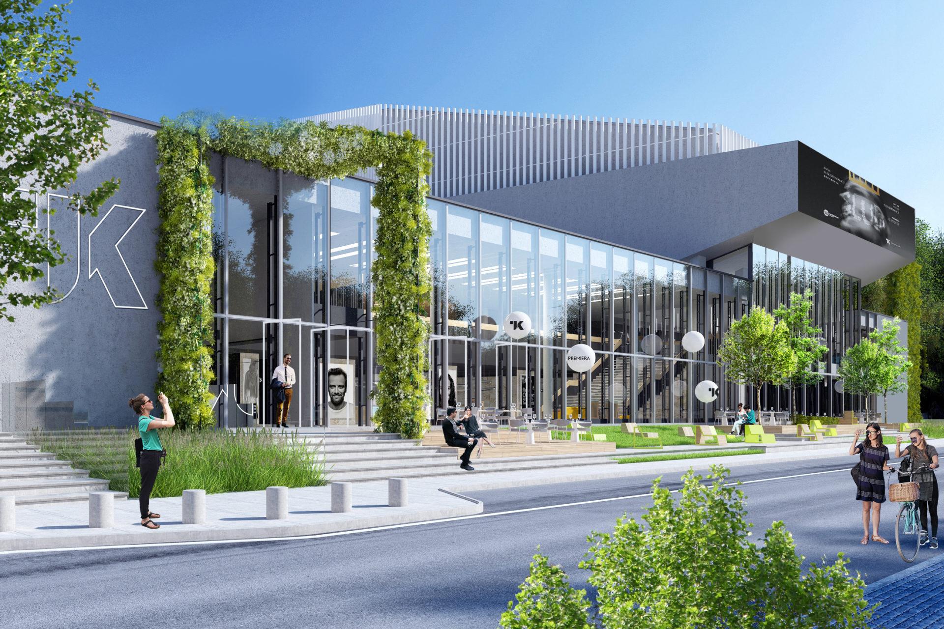 Przebudowa uwzględnia również powstanie Centrum Edukacji Kulturalnej. Ponad połowa kosztów projektu jest finansowana przez środki unijne.