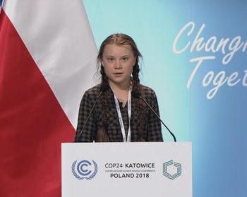 Greta Thunberg, foto, Katowice