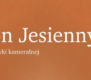 Plakat Festiwal Salon Jesienny 2020