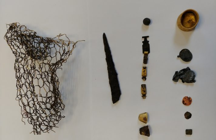 średniowieczne zabytki odkryte na terenie Teatru Wybrzeże