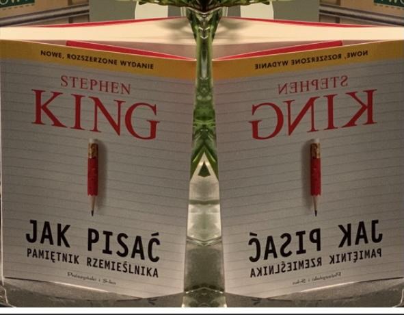 Stephen King, Jak pisać, 2021, okladka książki