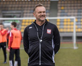 Cezary Pazura jako trener reprezentacji Polski w filmie Druga polowa, 2021