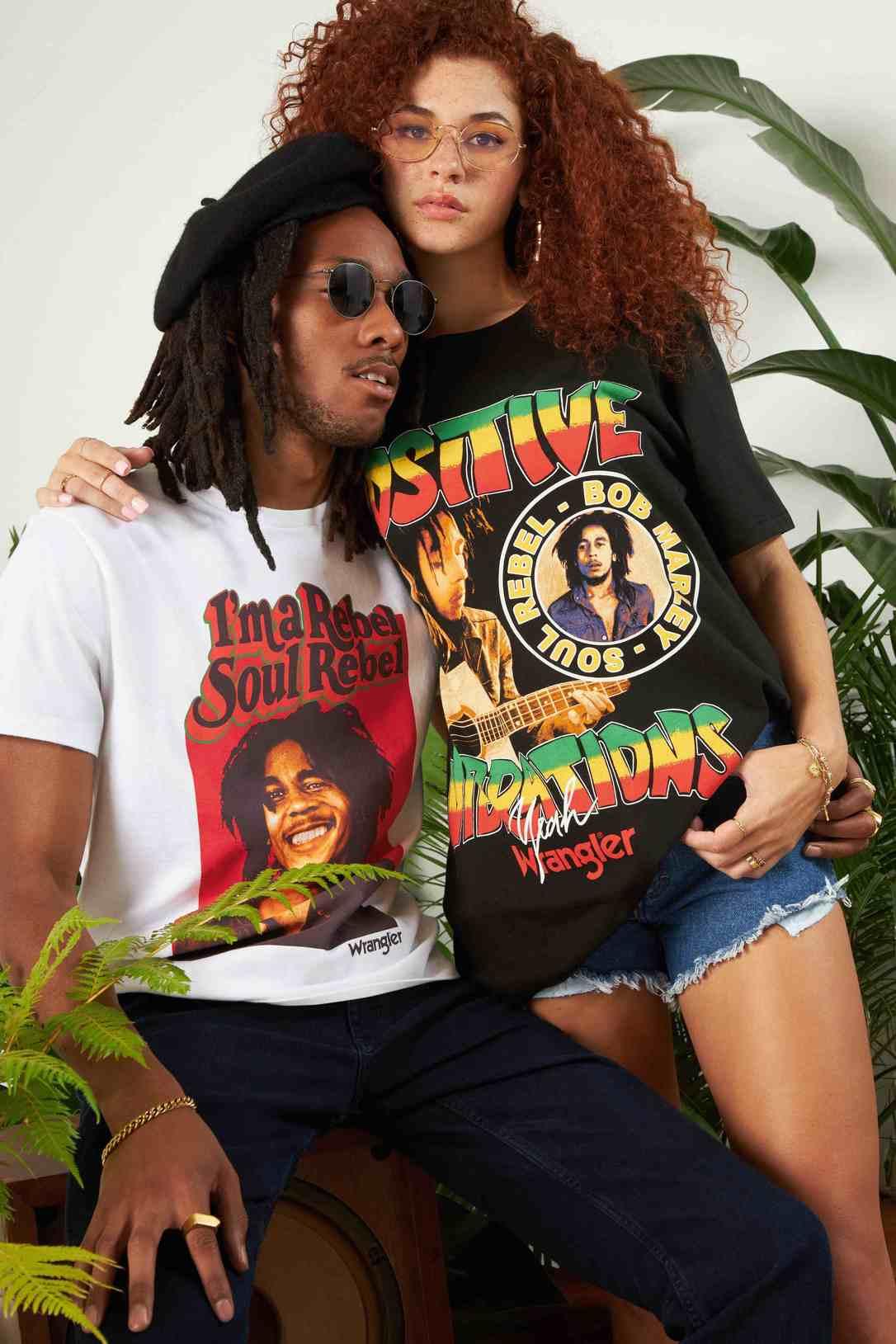 Wrangler® x Bob Marley