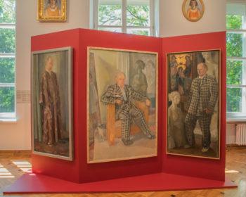Wystawa Xawery Dunikowski. Malarstwo, fot_Zuza Sosnowska_Muzeum Narodowe w Warszawie, 2021